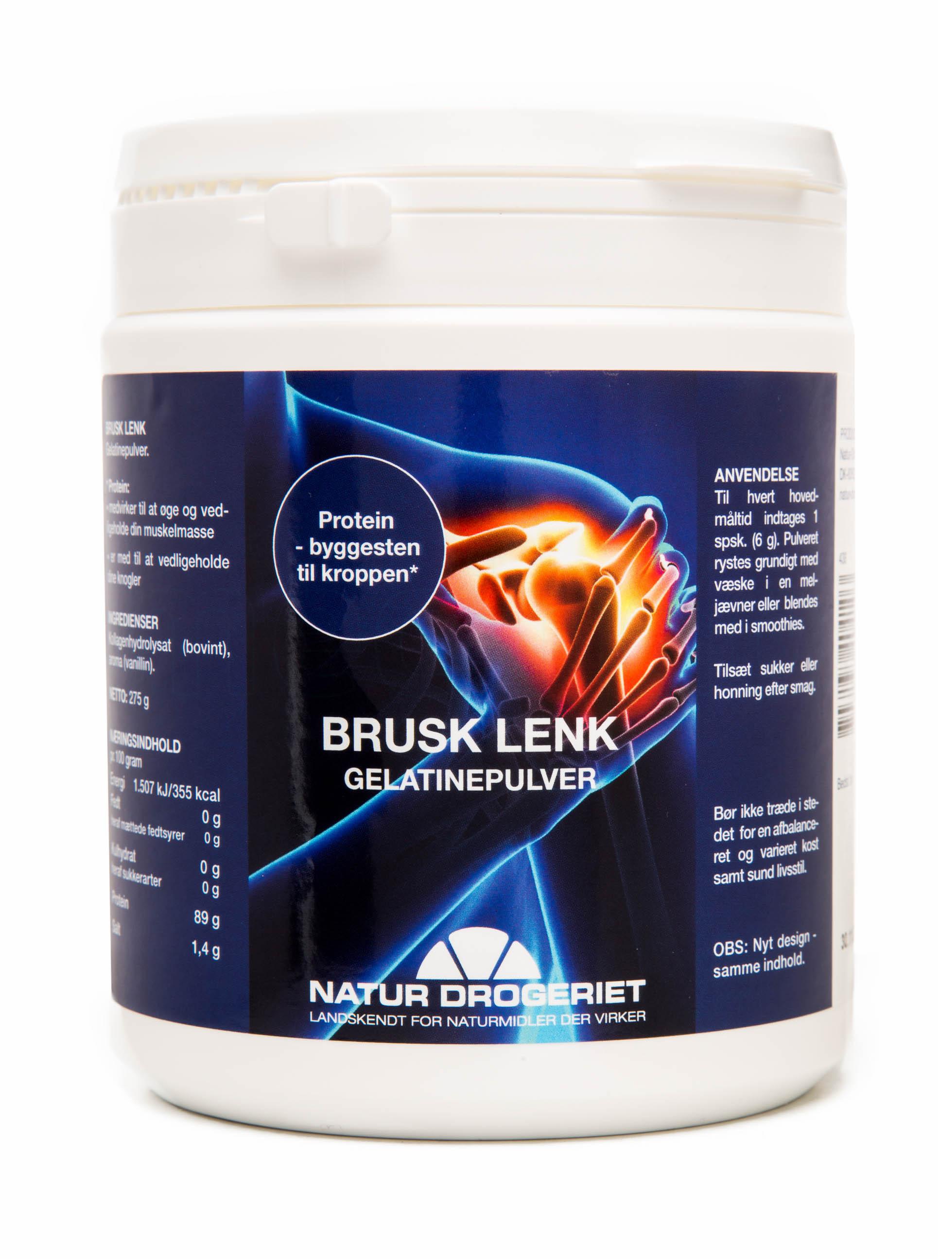 Billede af Natur-Drogeriet Brusk Lenk Pulver - 275 G