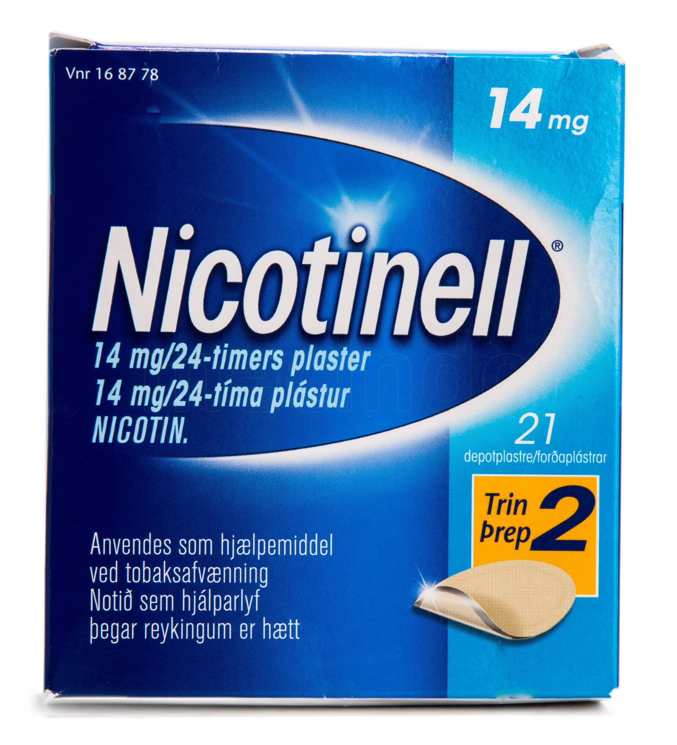 Billede af Nicotinell Depotplastre - 14 mg - 21 Plas
