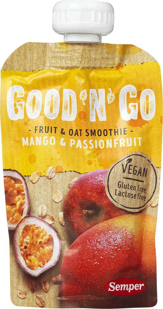 Image of   Semper Smoothie Frugt Og Havre M. Mango Glutenfri - 120 G