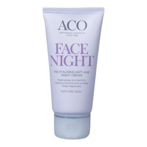 Image of   ACO Face Moisturising Night Cream - 50 ml