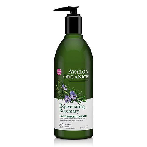 Image of Avalon Organics Rejuvenating Rosemary Hand & Body Lotion - 340 Gram