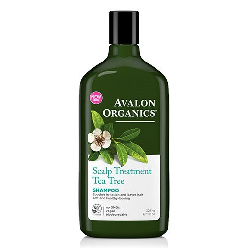 Image of   Avalon Organics Scalp Treatment Tea Tree Shampoo - 325 ml