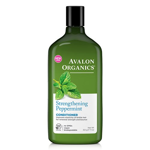 Image of Avalon Organics Strengthening Peppermint Conditioner - 312 Gram