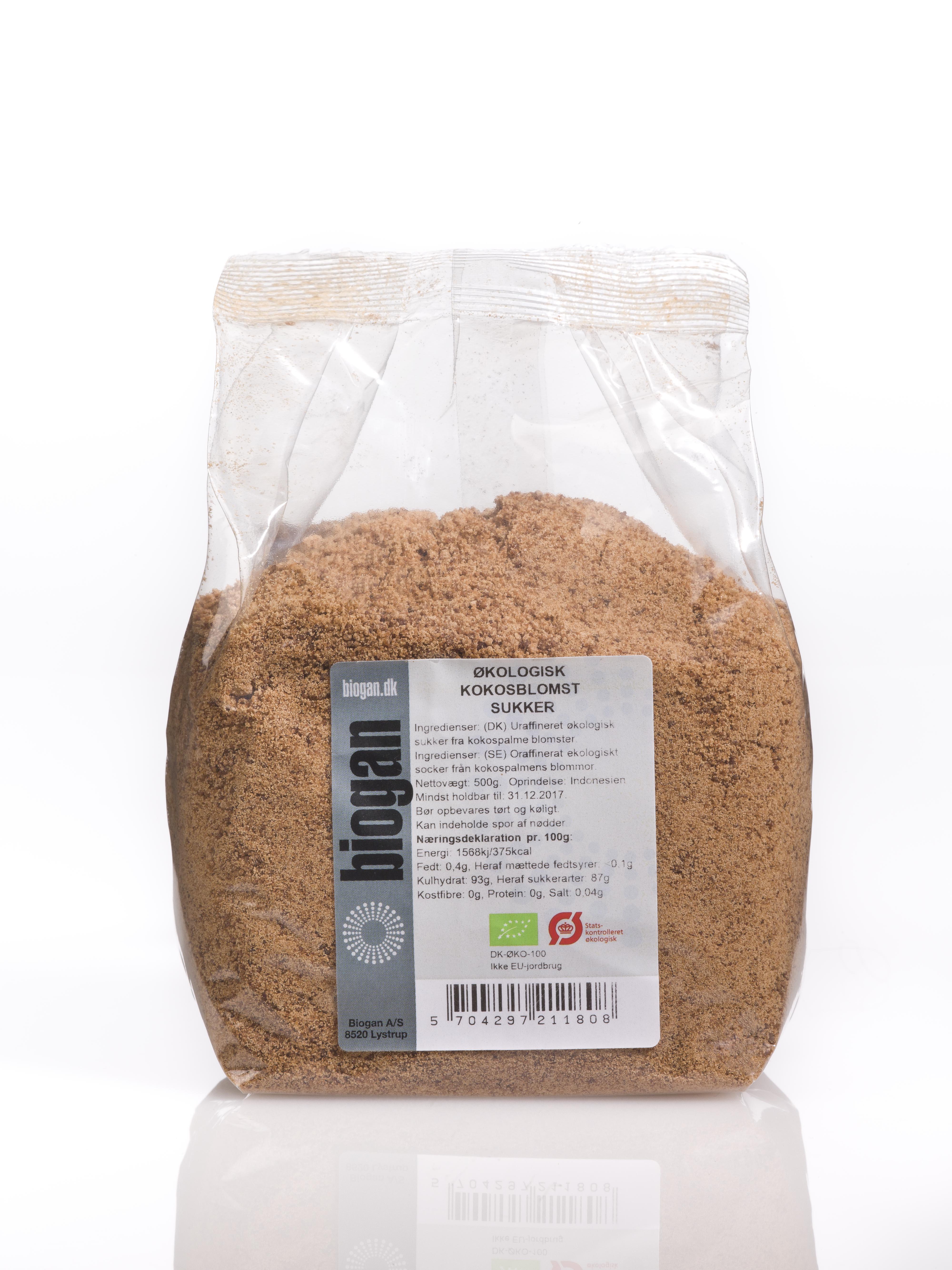 Biogan kokossukker fra Mecindo