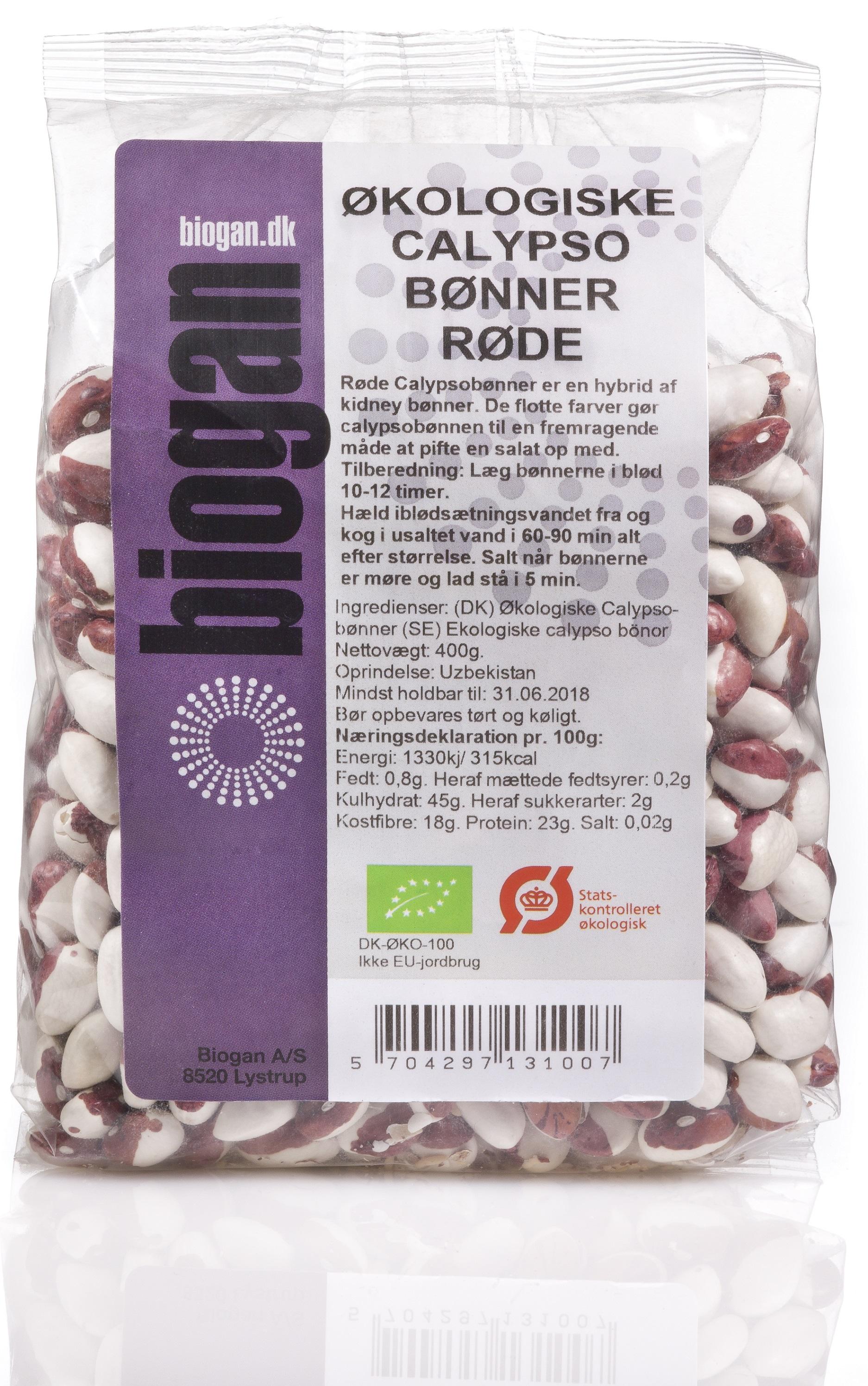Biogan kidneybønner fra Mecindo