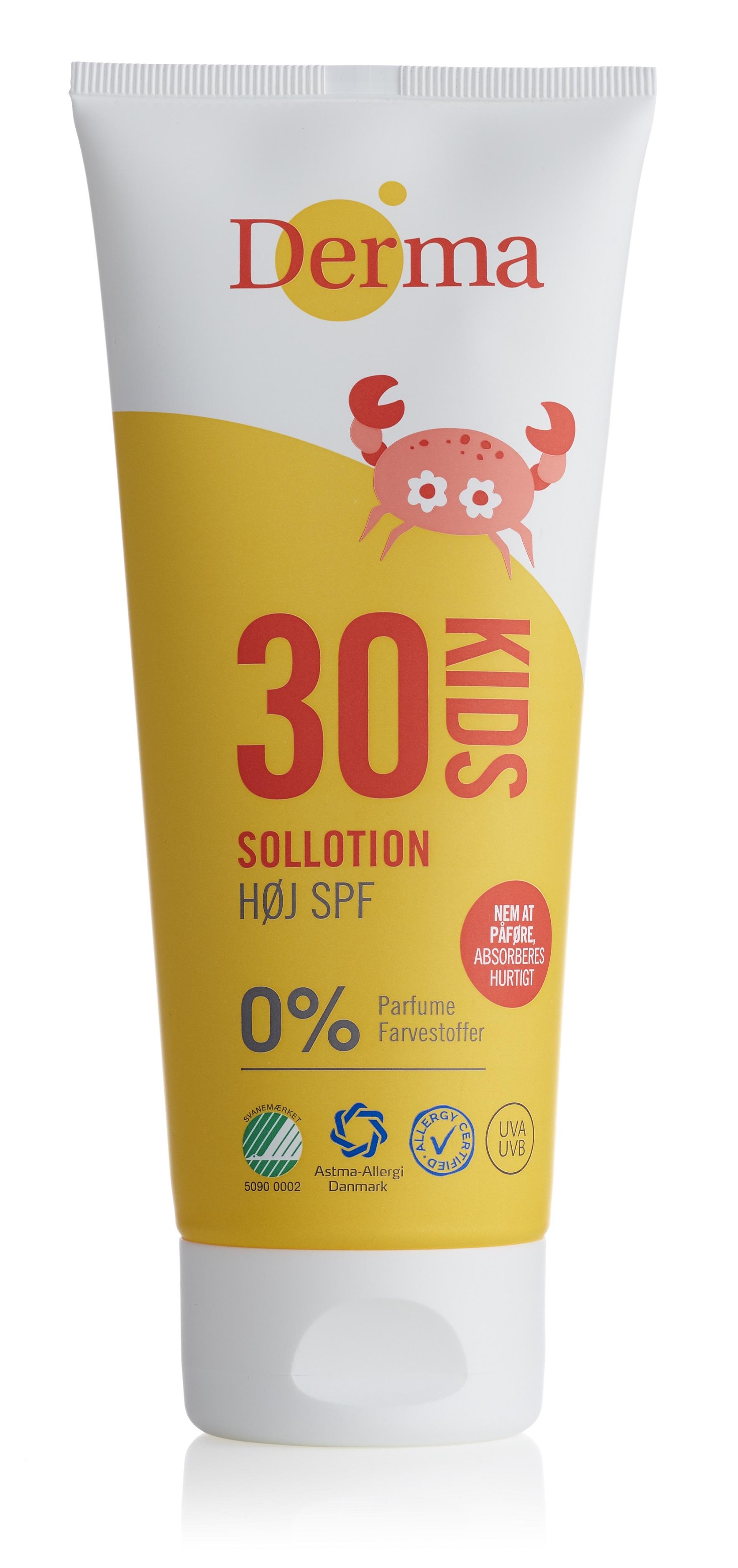 Image of   Derma Kids Sollotion Spf 30 - 200 ml