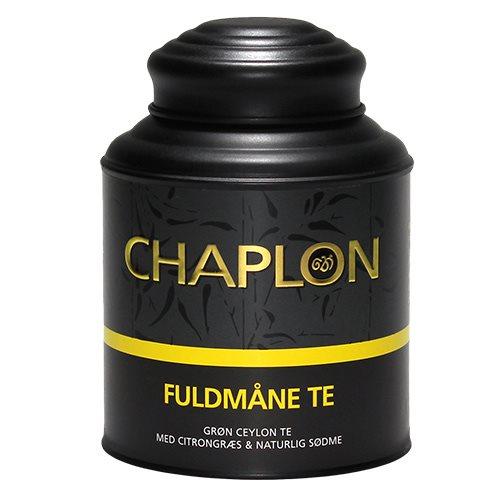 Image of   Chaplon Fuldmåne Grøn Te i Dåse Ø - 160 G