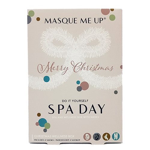 Image of   Spa & Wellness Christmasbox Indeh. 4 Masker: Mousturizing Sheet Mask, - 1 Pakk