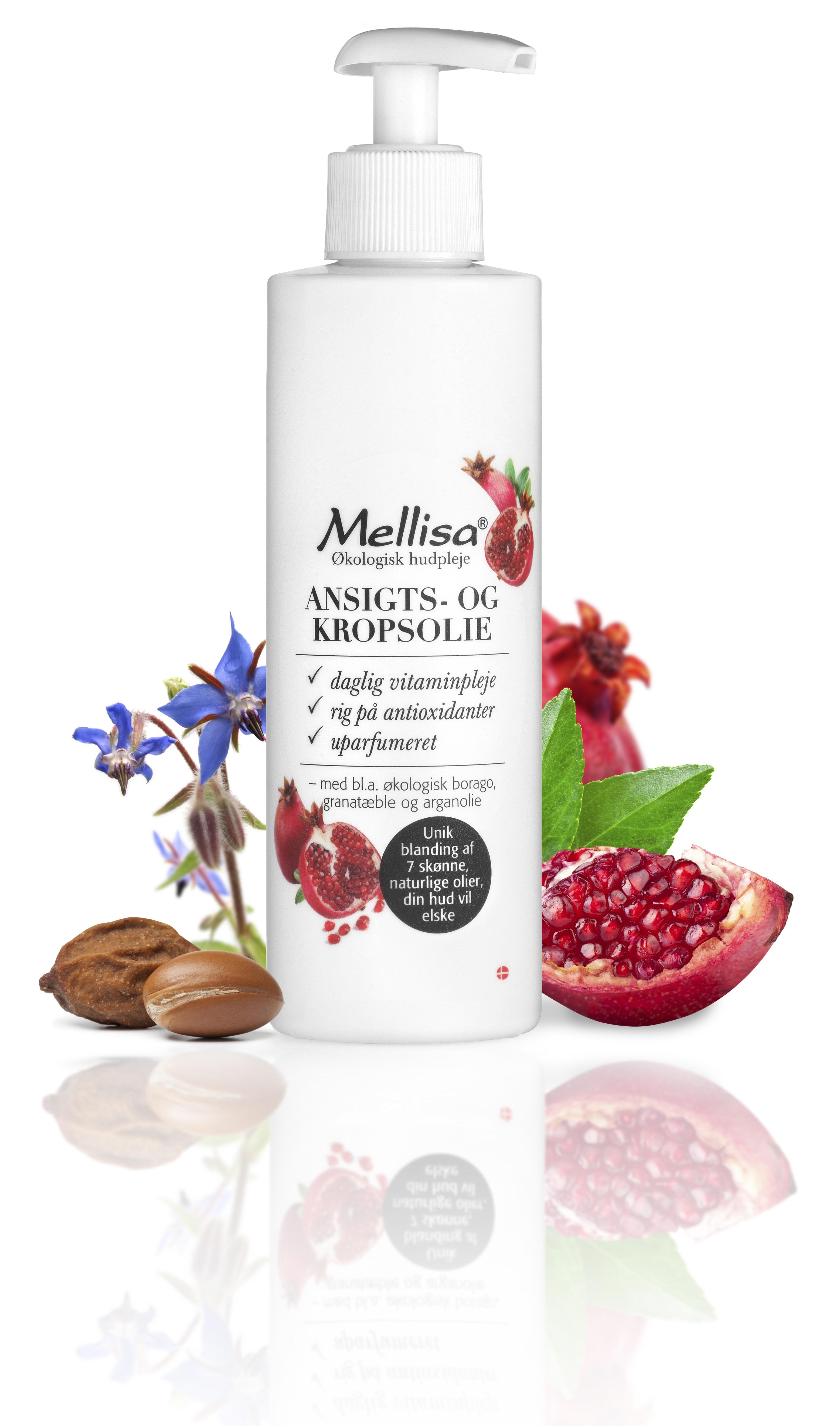 Billede af Mellisa Ansigts- og Kropsolie - 200 ml