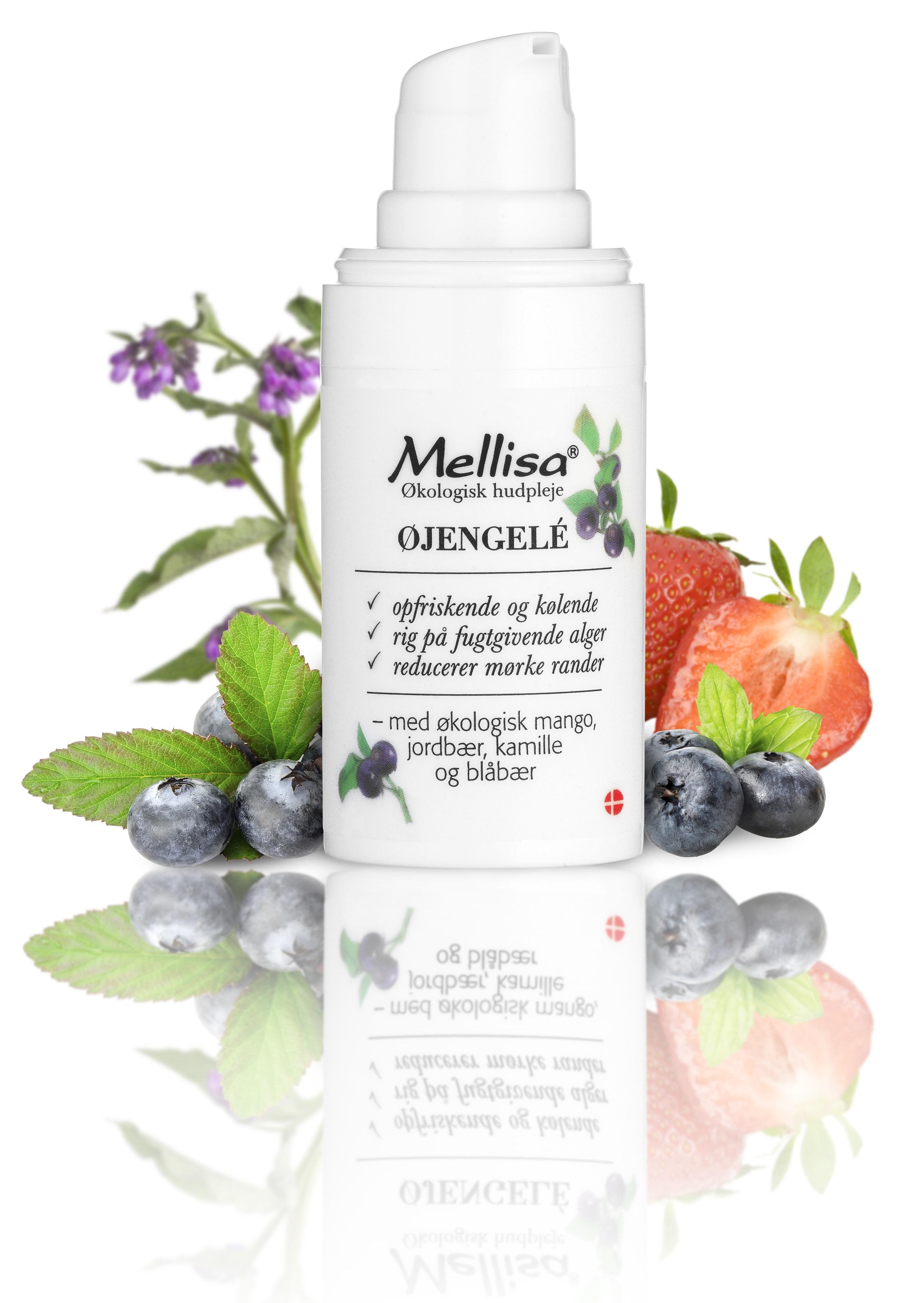 Billede af Mellisa Øjengele m. mango, kamille og blåbær - 15 ml