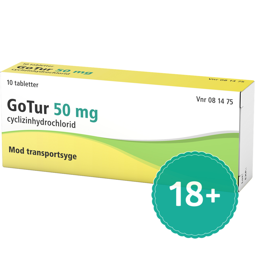 Billede af GoTur - 50 mg - 10 Tabl