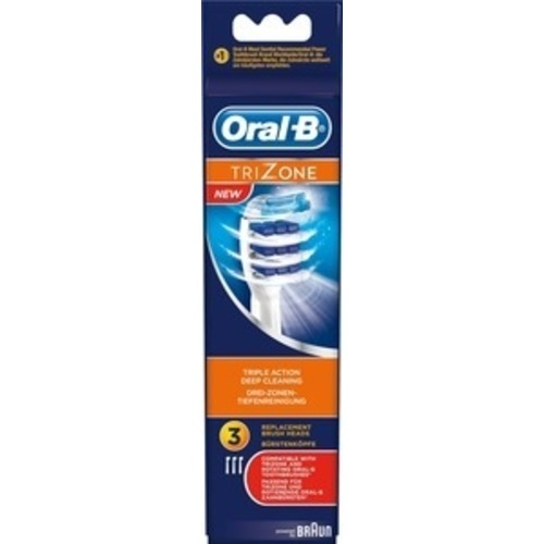 Billede af Oral-B Tri Zone -Tandbørstehoveder (EB30) - 3 Stk.