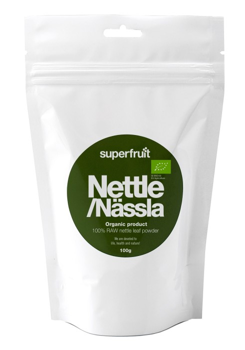 Image of   Superfruit Nettle Powder Ø Brændnælde - 100 Gram