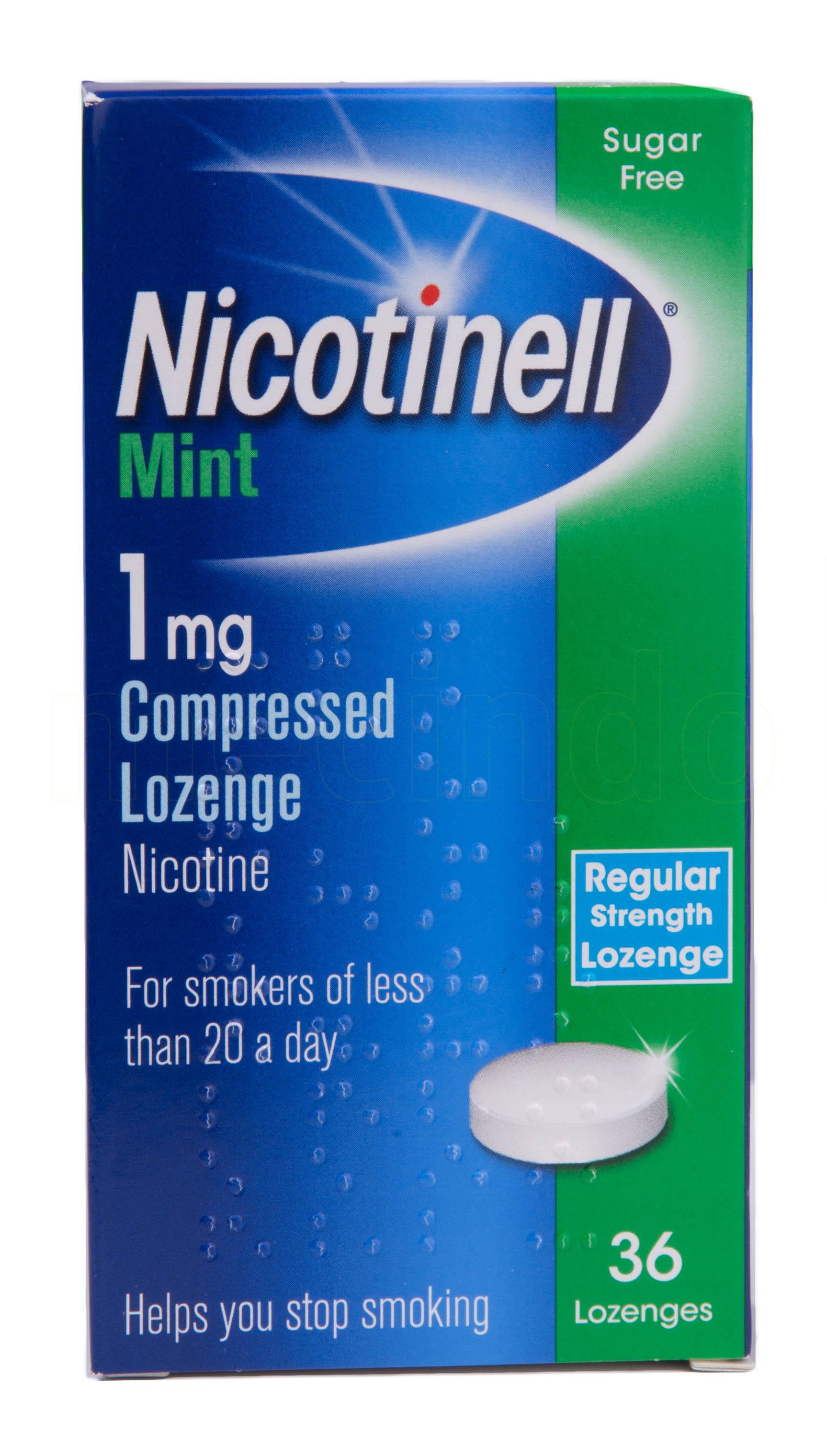 Billede af Nicotinell Sugetabletter Mint - 1 mg - 36 Suge
