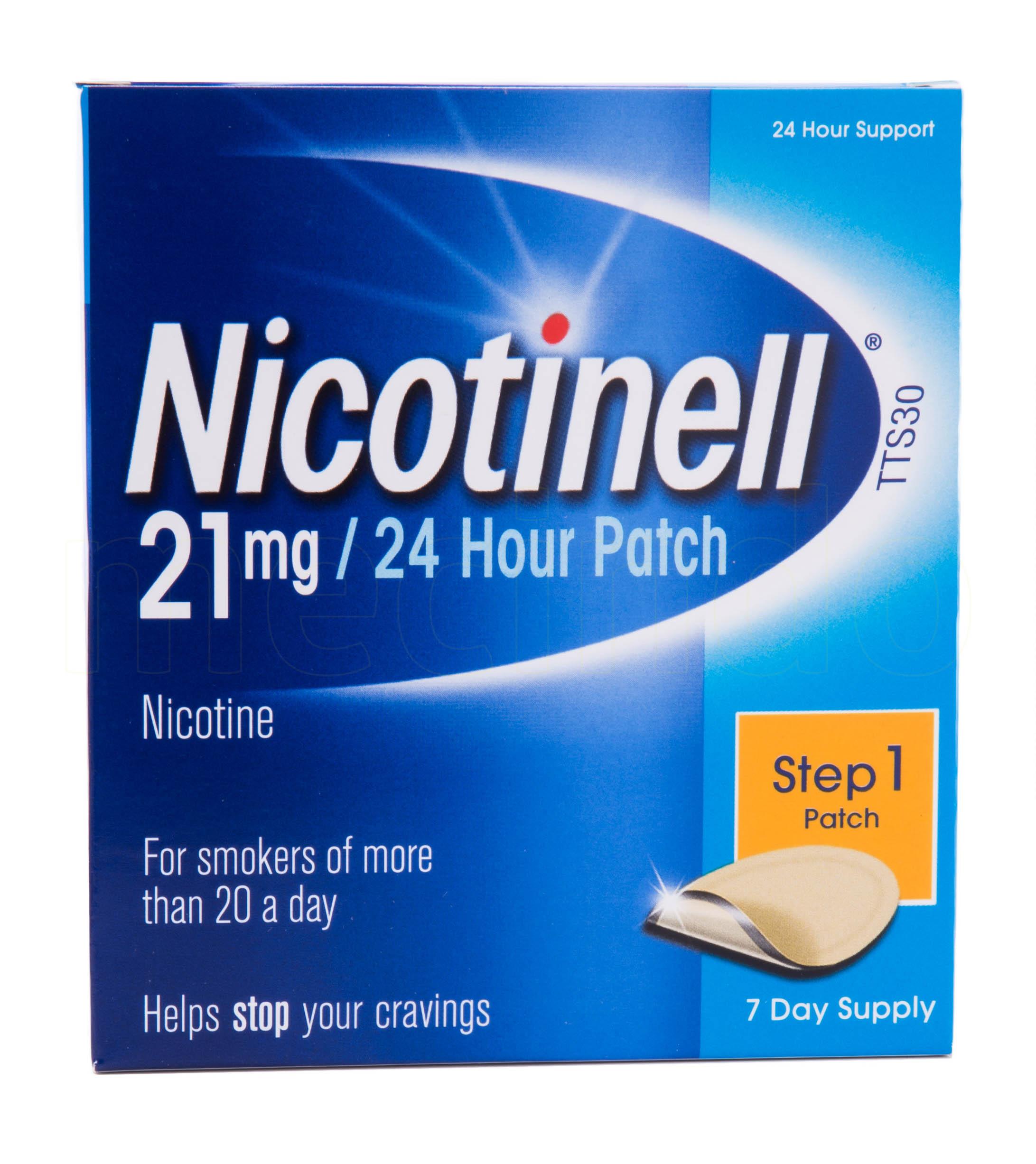 Billede af Nicotinell Depotplastre - 21 mg - 7 Plas