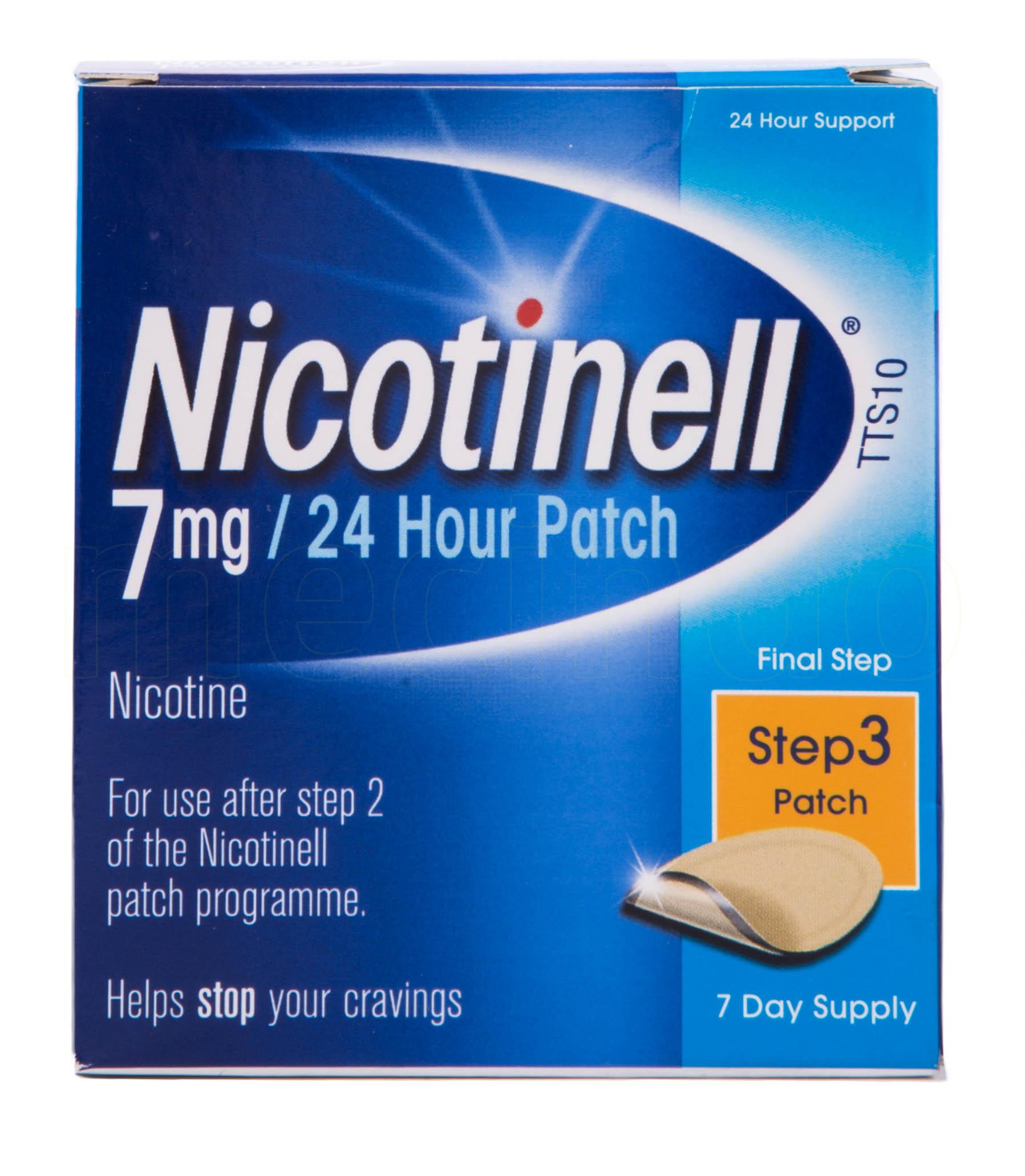 Billede af Nicotinell Depotplastre - 7 mg - 7 Plas