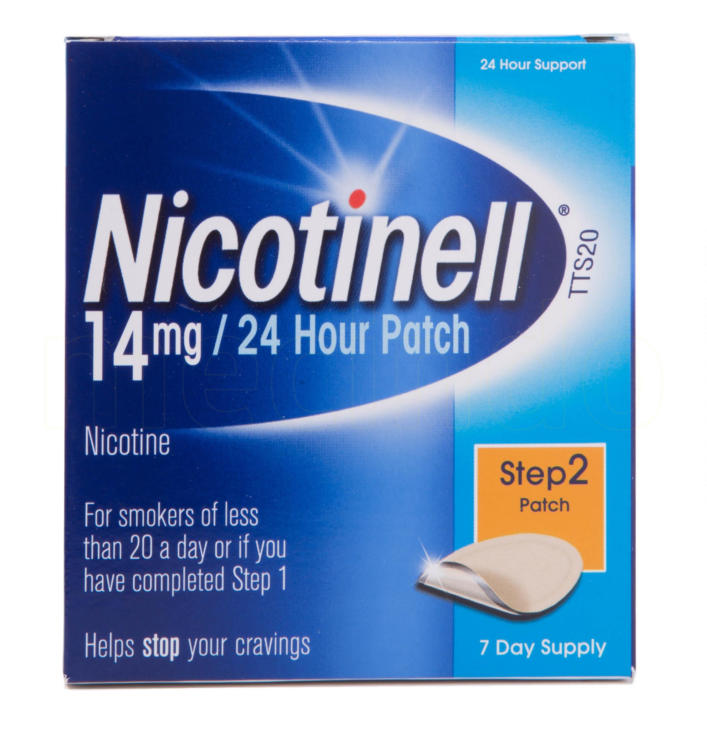 Billede af Nicotinell Depotplastre - 14 mg - 7 Plas