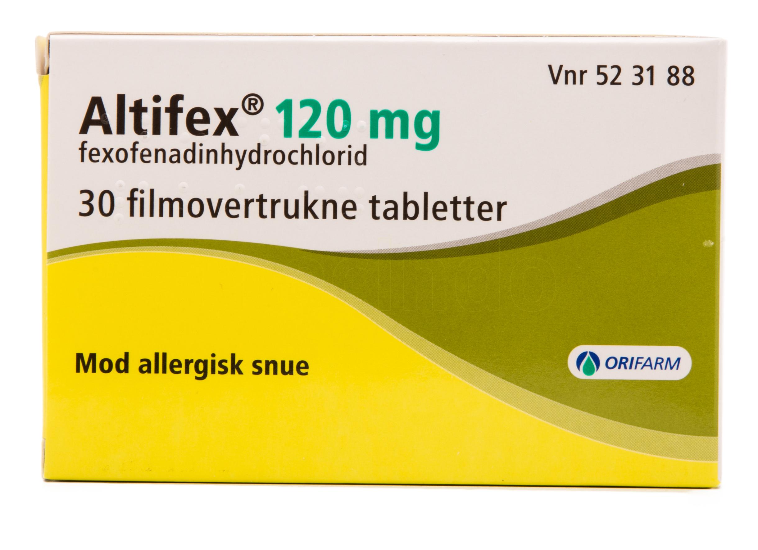 Image of Altifex - 120 mg - 30 Tabl