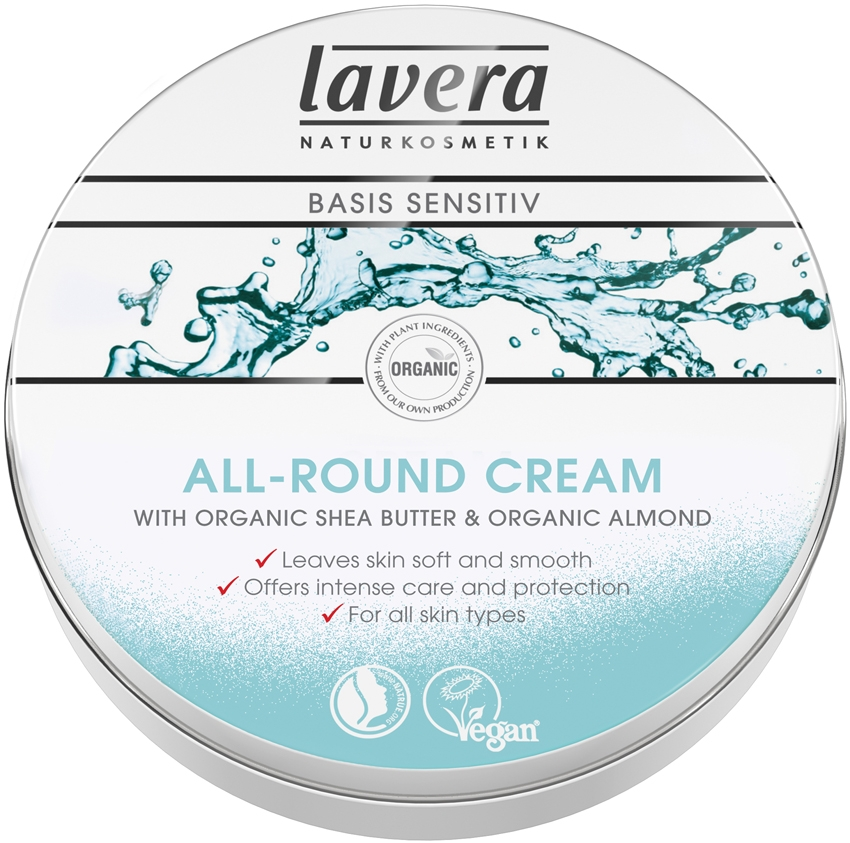 Image of   Lavera Basis All Round Cream - 150 ml
