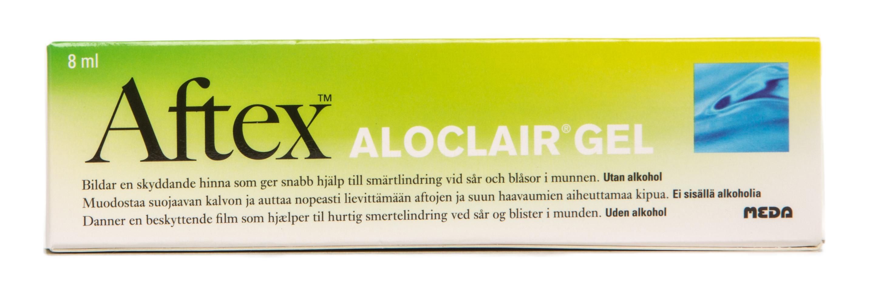 Image of   Aftex Aloclair Mundgel - 8 ml