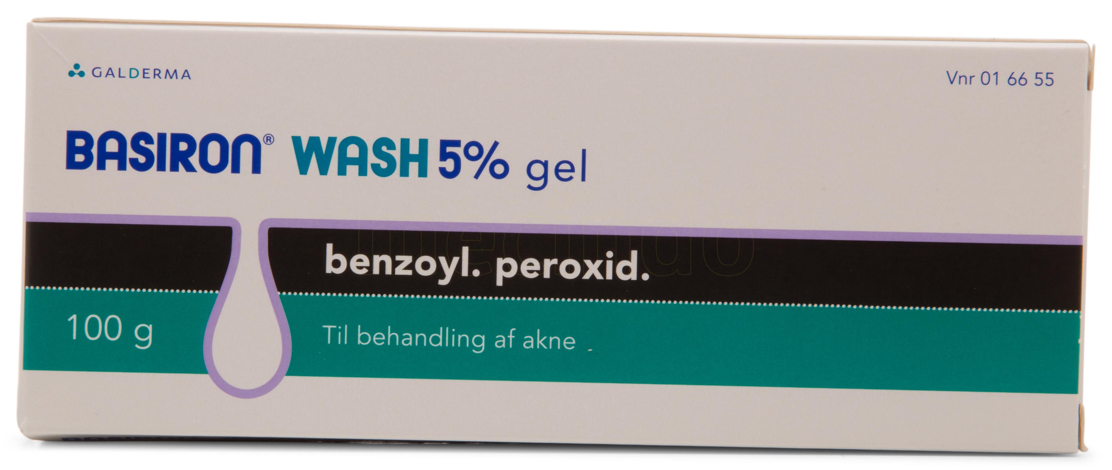 Image of Basiron Wash Gel - 5 % - 100 Gram