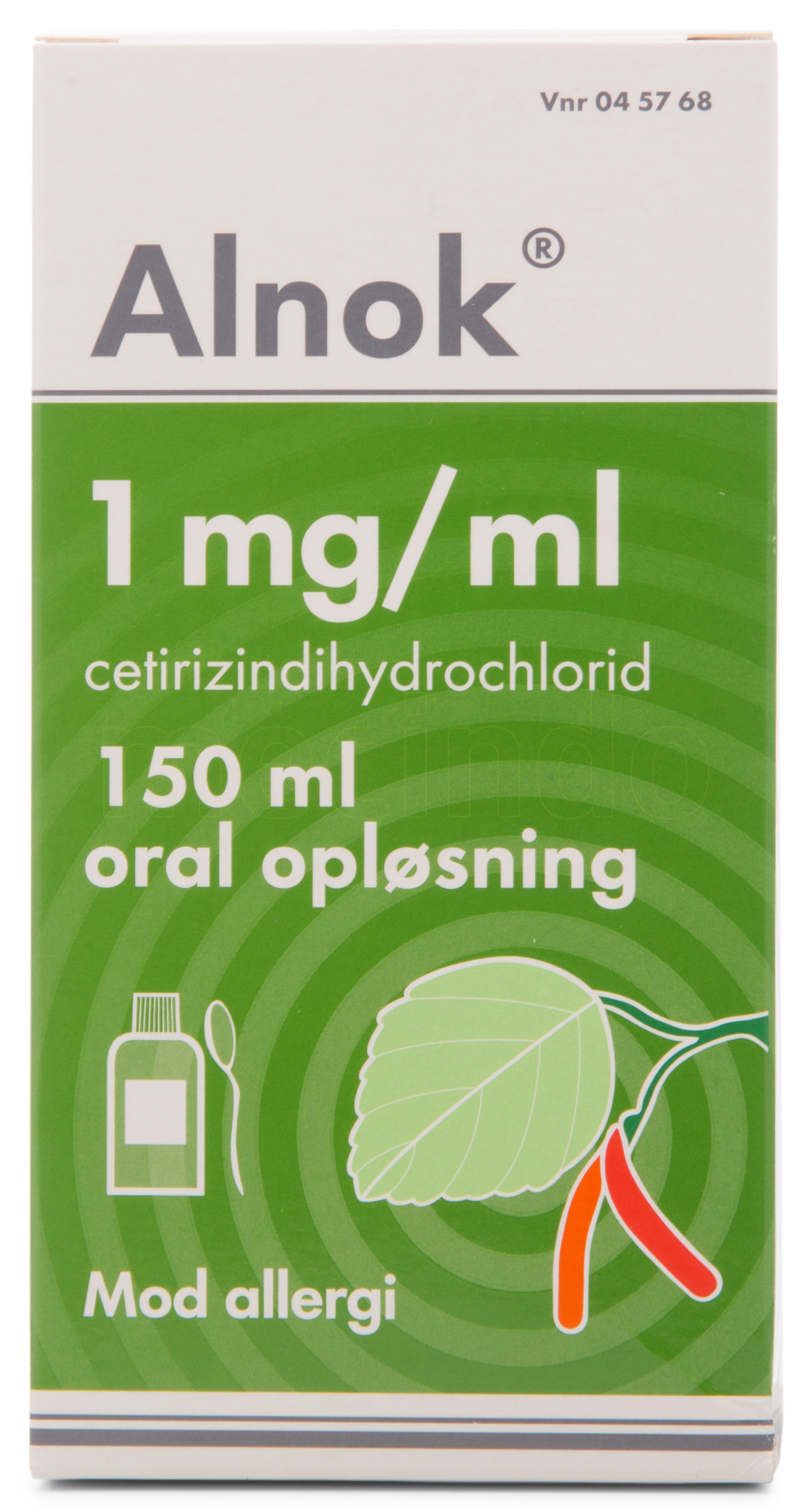 Image of Alnok Oral Opløsning - 1 mg/m - 150 ml