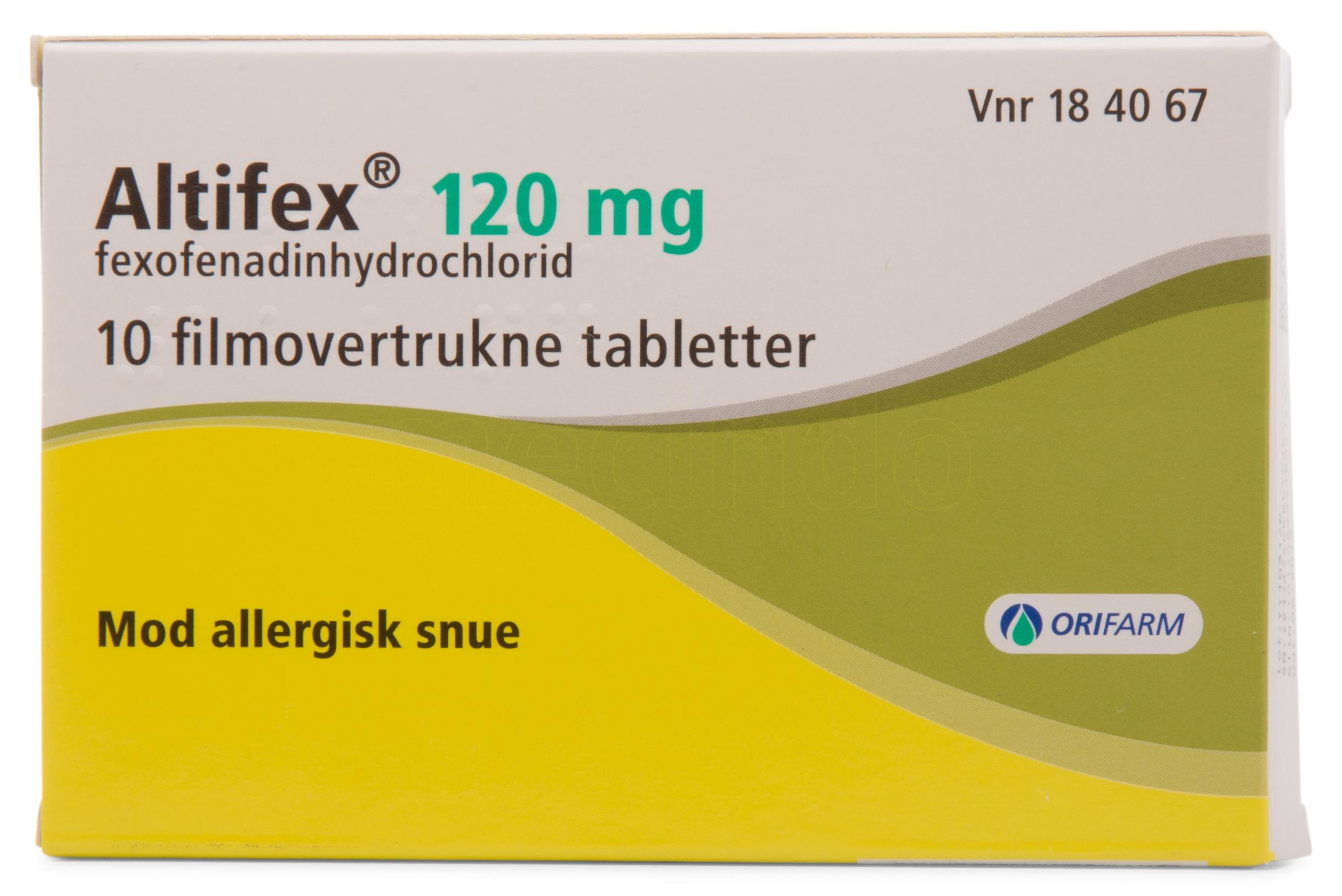 Image of Altifex - 120 mg - 10 Tabl