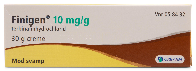 Billede af Finigen Creme - 10 mg/g - 30 Gram