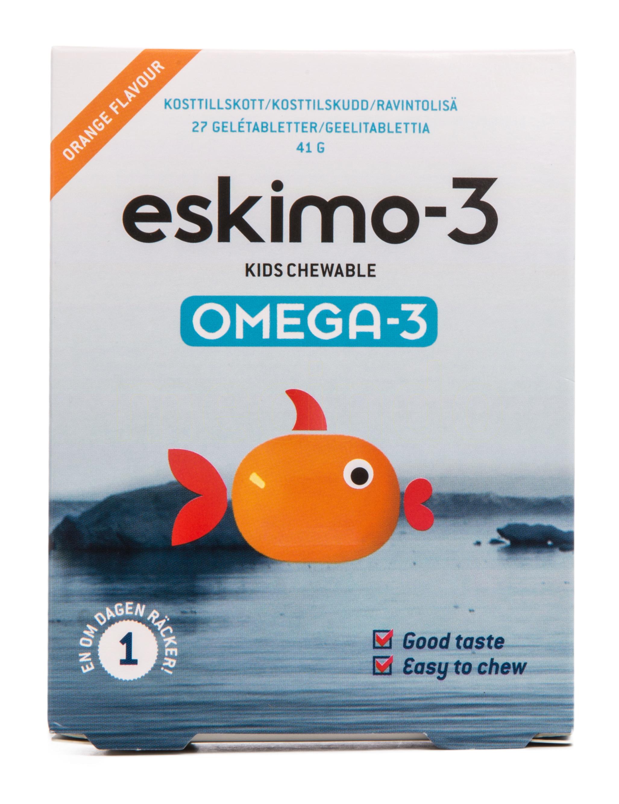 Eskimo-3 fiskeolie fra Mecindo
