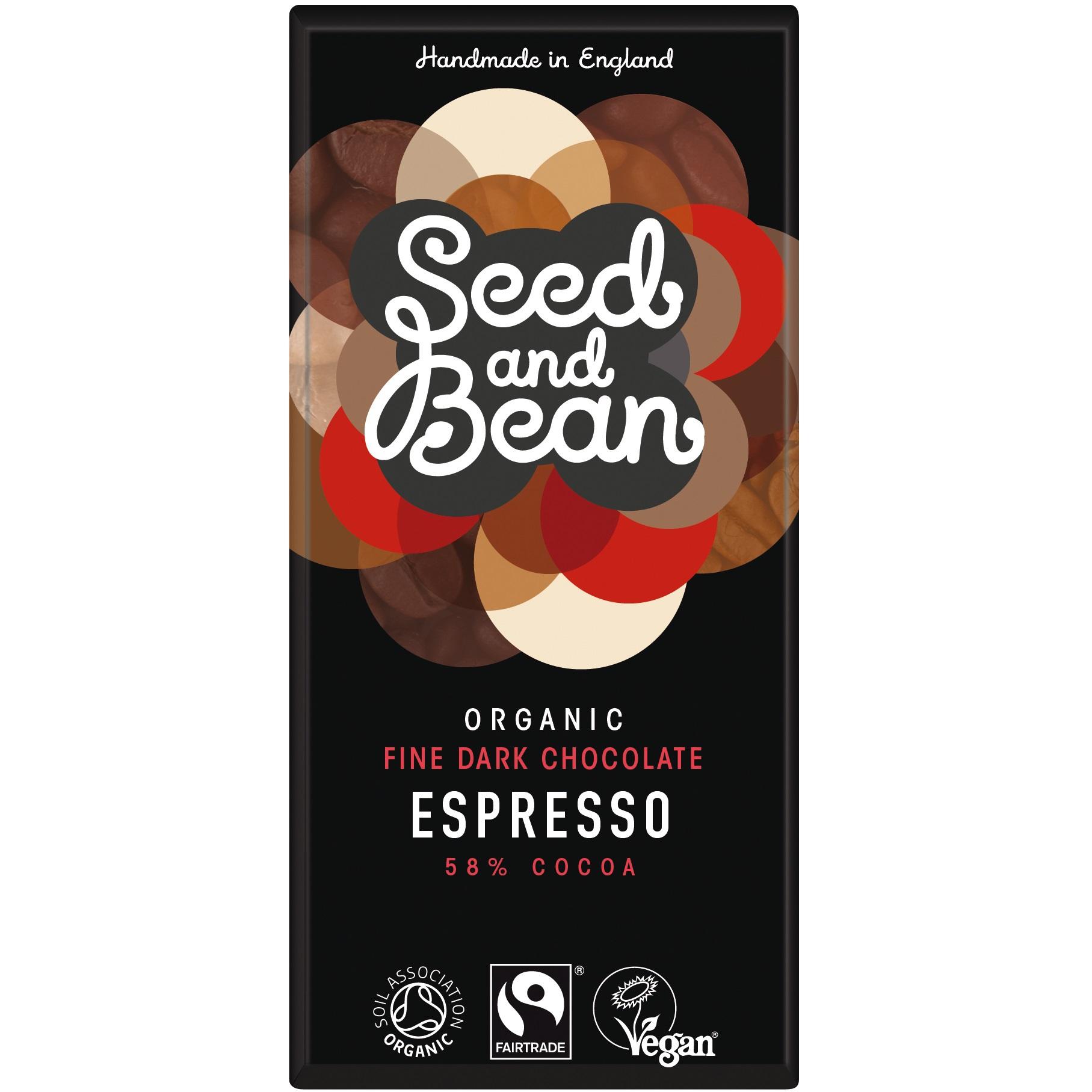 Seed & Bean mørk chokolade fra Mecindo