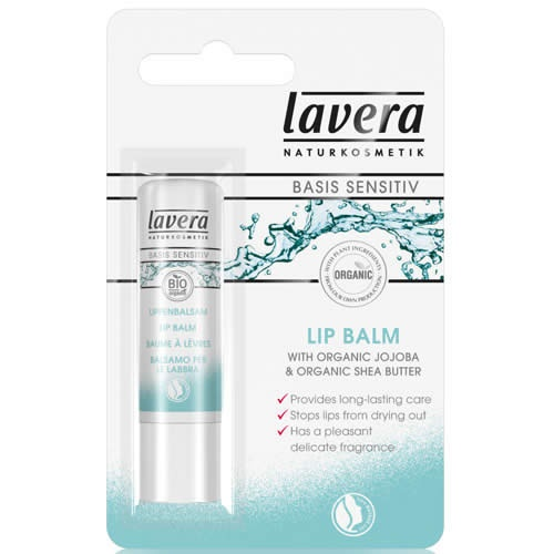 Image of   Lavera Basis Lip Balm - 4 Gram