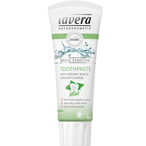 Image of   Lavera Basis Mint Tandpasta - 75 ml