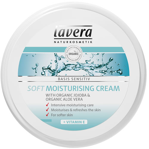 Image of   Lavera Basis Soft Moisturising Cream - 150 ml