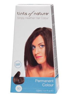 Billede af Tints of Nature Permanent Hårfarve 5D Light Golden Brown - 130 ml