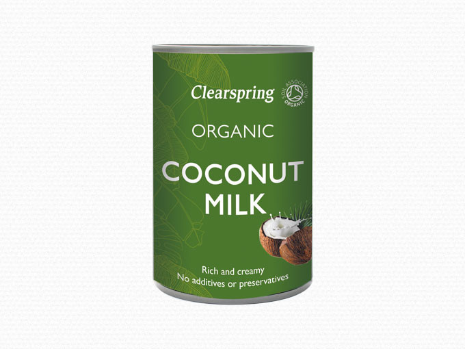Clearspring kokosmælk fra Mecindo