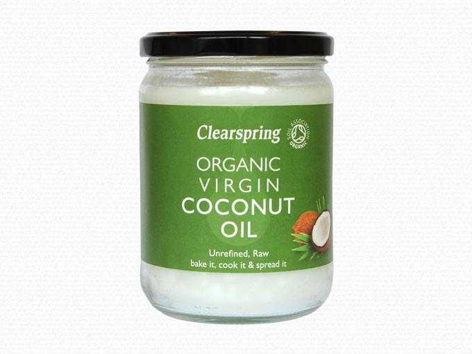 Clearspring kokosolie fra Mecindo