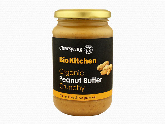 Image of   Clearspring Peanut Butter Crunchy - 350 Gram