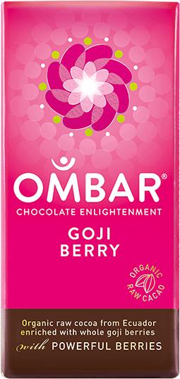 Image of   Ombar Gojibær Bar - 35 Gram - 1 Bars