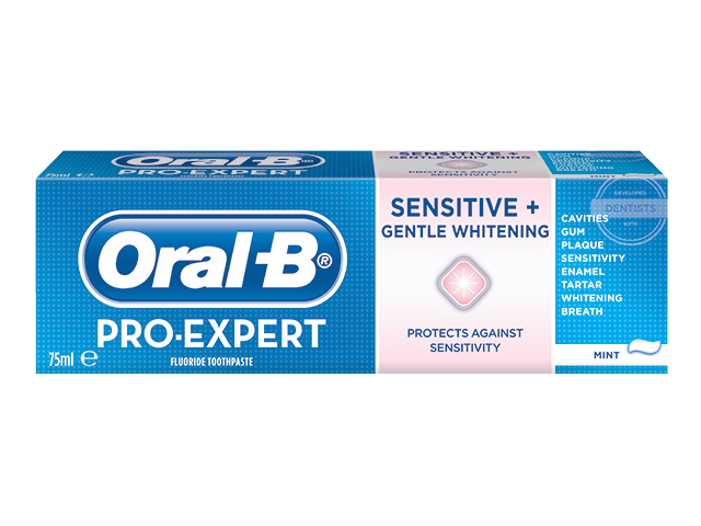 Billede af Oral-B Pro-Expert Sensitive & Gentle Whitening Toothpaste - 75 ml
