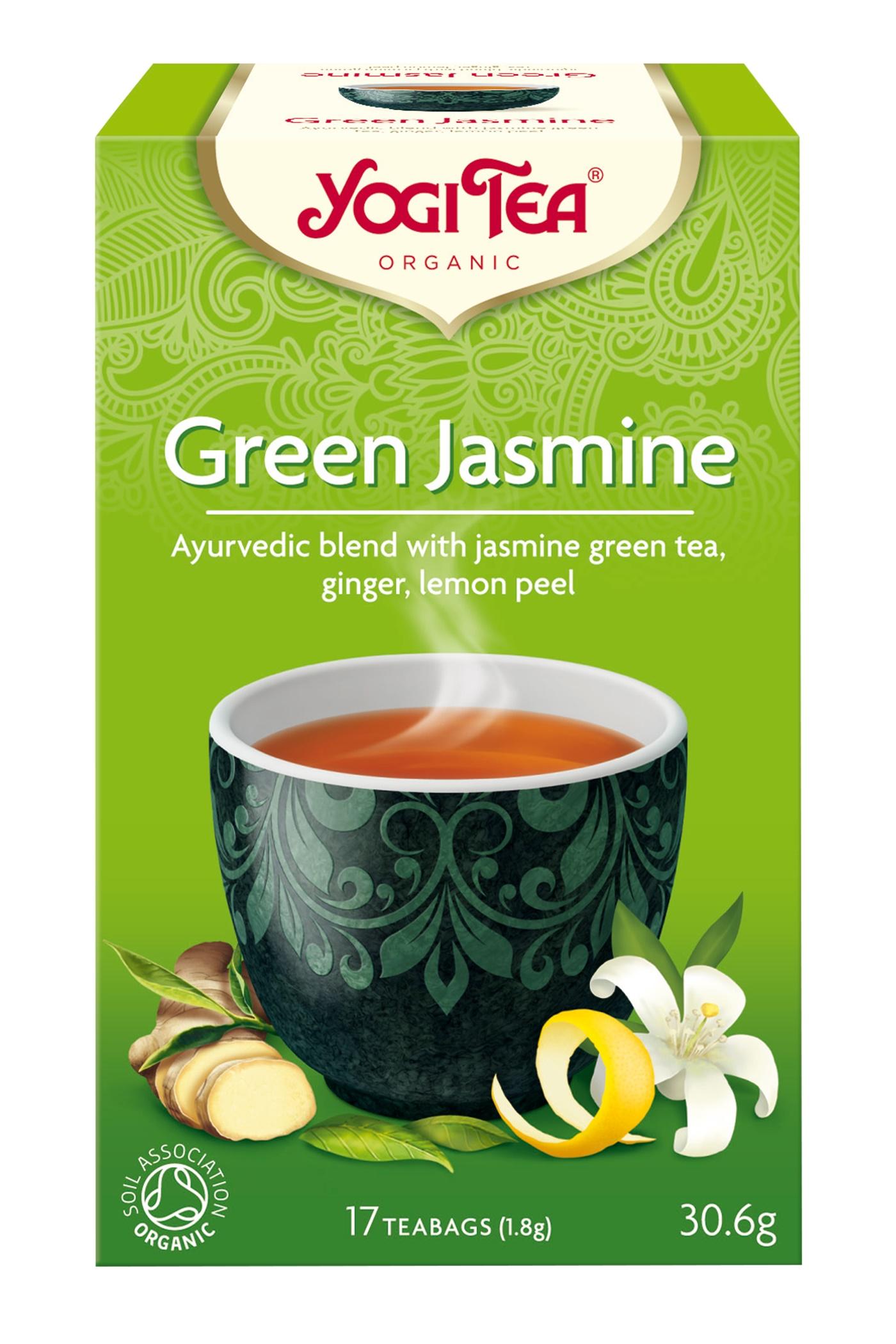 Yogi Tea Green Jasmine Te - 17 Brev