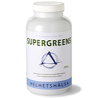 Helhetshälsa SuperGreens 30port 250g - 250 G