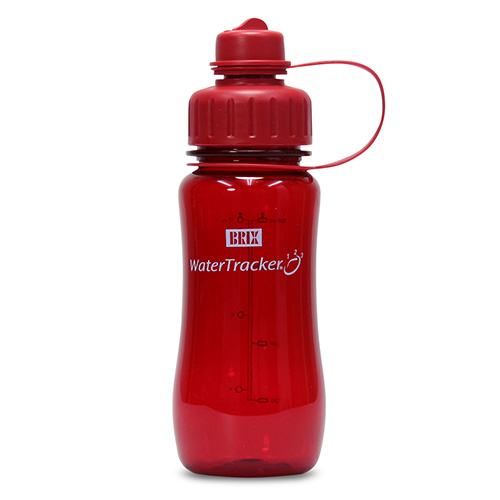 WaterTracker Red 0,5 l drikkedunk BRIX - 1 stk