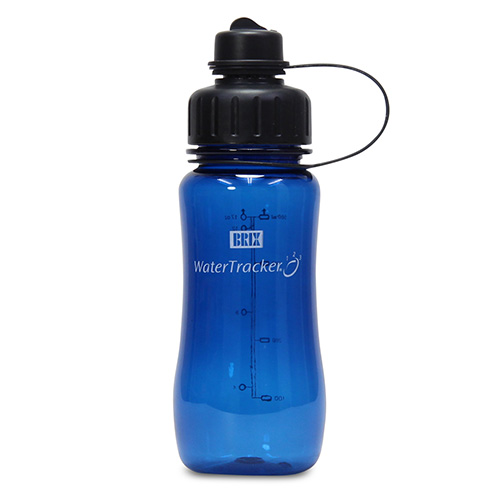 WaterTracker Navy Blue 0,5 l drikkedunk BRIX - 1 stk