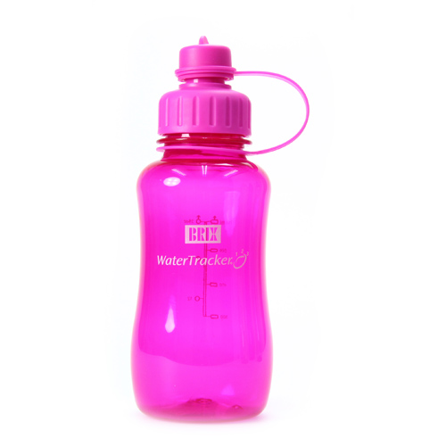 WaterTracker Hot pink 0,75 l drikkedunk BRIX - 1 stk