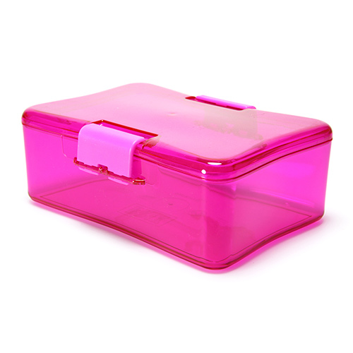 LunchBox madkasse hot pink - 1 stk