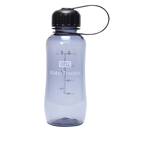 Image of   WaterTracker 0,3 L Blue Smoke BPA-fri Drikkeflaske af Tritan - 1 stk
