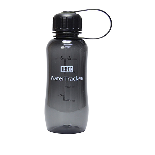 WaterTrakers 0,3 L Black BPA-fri drikkeflaske af Tritan - 1 stk