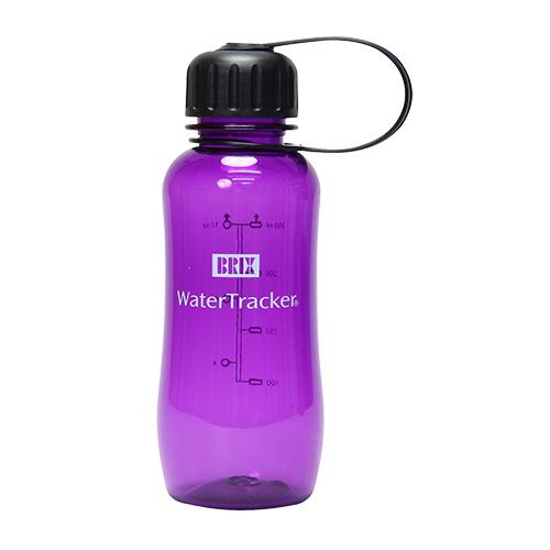 WaterTracker 0,3 L Purple BPA-fri drikkeflaske af Tritan - 1 stk