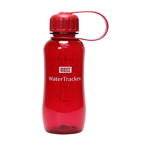 WaterTracker 0,3 L Red BPA-fri drikkeflaske af Tritan - 1 stk