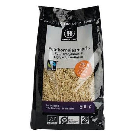 Urtekram Jasmin ris fuldkorn Ø - 500 G